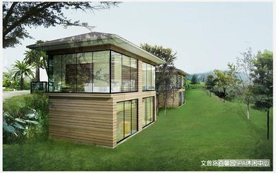 2008-2009年 百馨园度假村规划设计