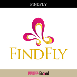 """""""FINDFLY""""品牌标志设计"""
